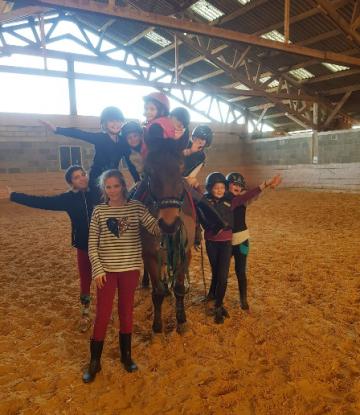 Stages équitation à Caumont